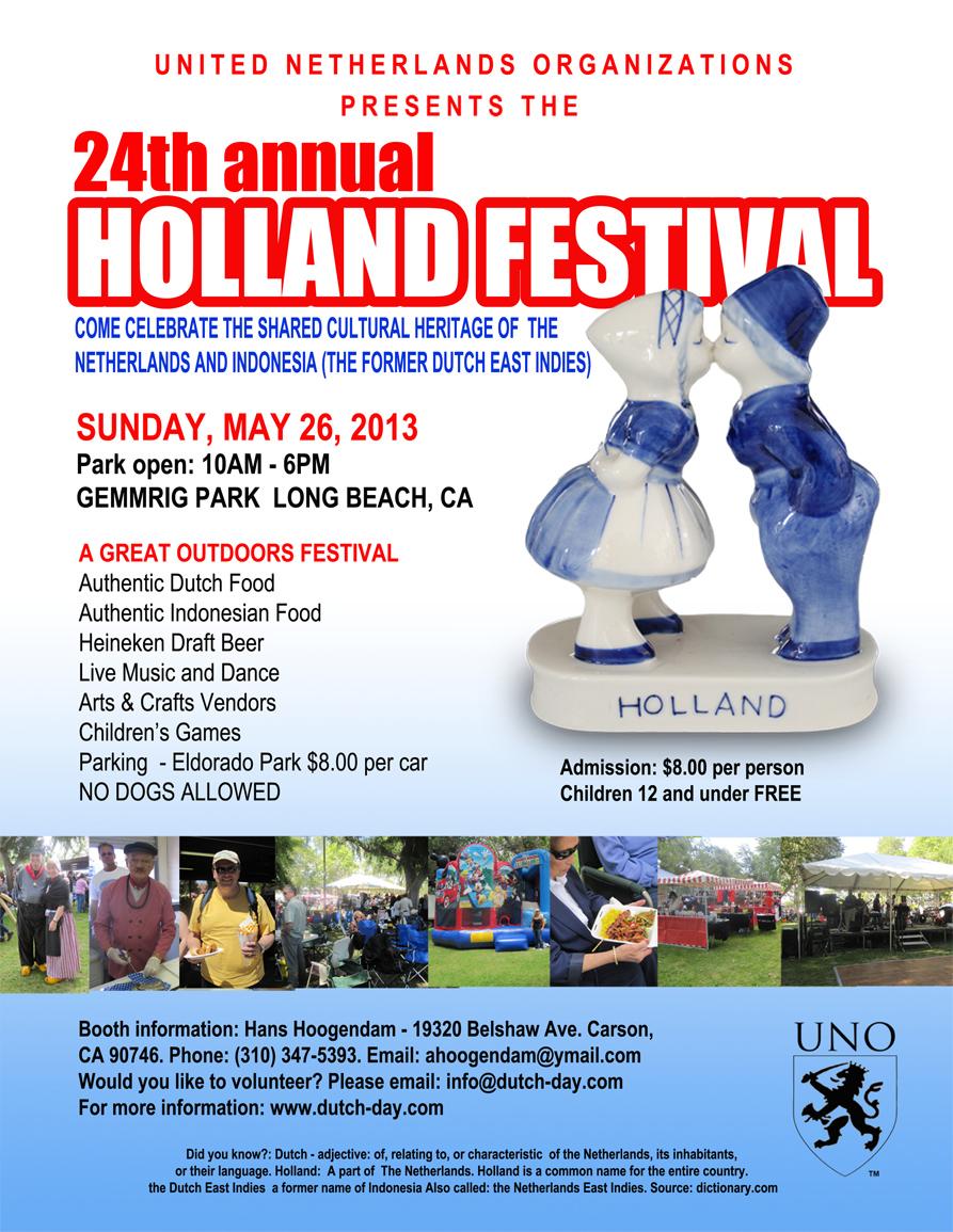 24th Annual Holland Festival