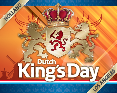 Sunday, April 27th, 2014 – LA's first Dutch King's Day.