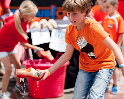 Activities for All Ages at Dutch King's Day.