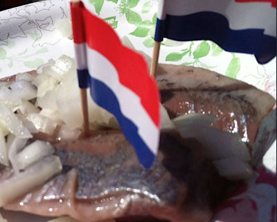 Tastes of Holland at Dutch King's Day.
